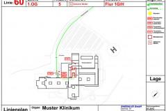 Muster Feuerwehrlaufkarte